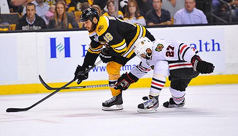 Boston Bruins vs. Chicago Blackhawks in 2013 Stanley Cup Final