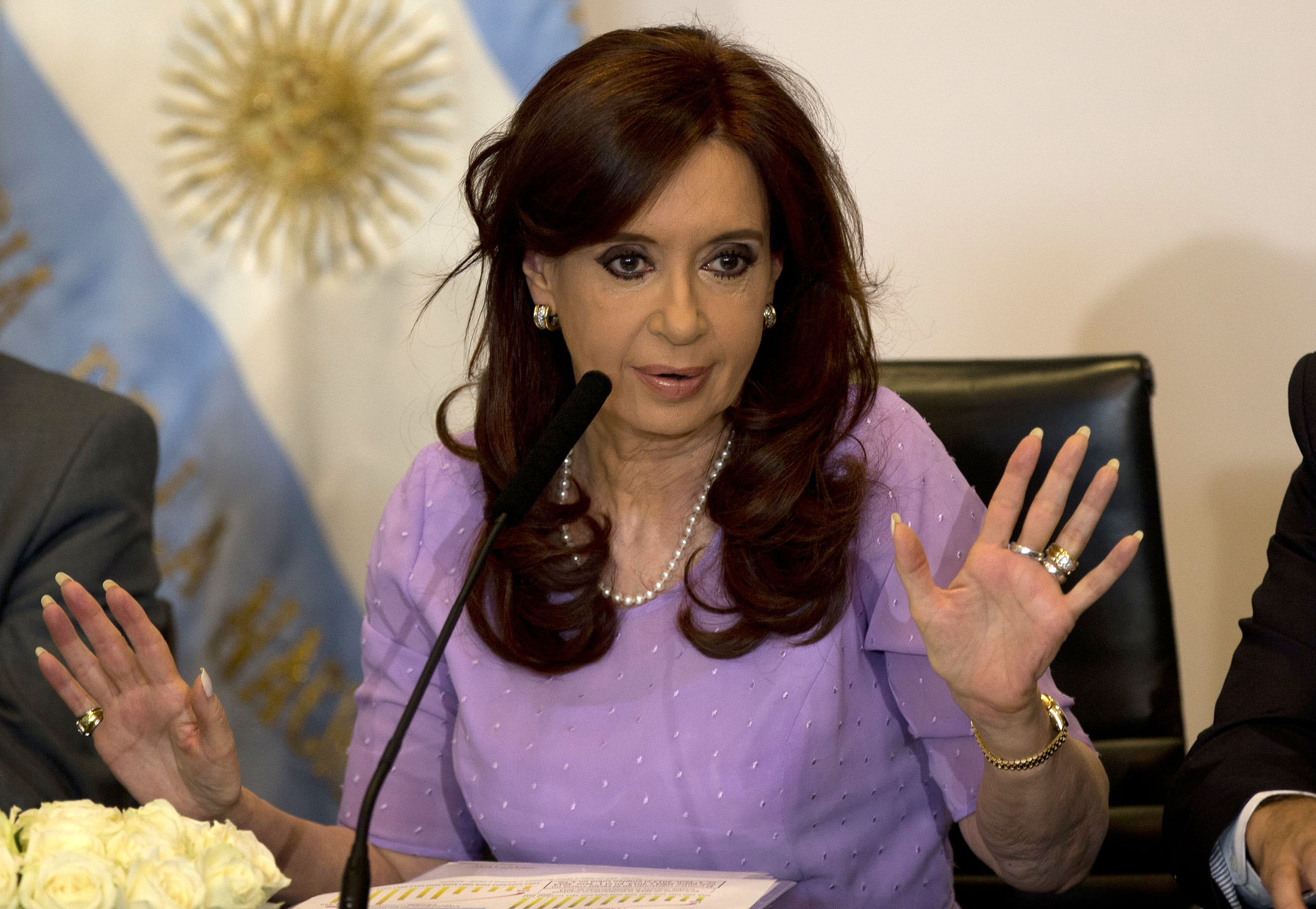 Victory for Argentine leader: Judge rejects cover-up case