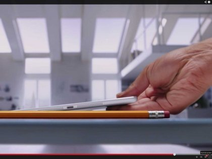 ipad air ad