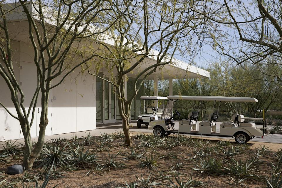 Obama visits Sunnylands twice in less than a year