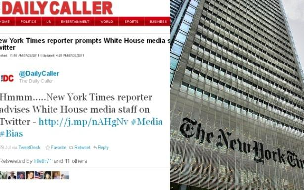 The Daily Caller Accuses the NYT of 'Prompting' the White House