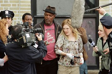 Samuel L. Jackson and Julianne Moore in Columbia Pictures' Freedomland