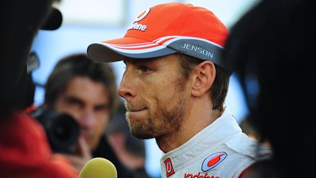 McLaren's Jenson Button (AFP)