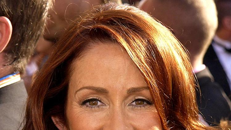 Patricia Heaton at The 55th Annual Primetime Emmy Awards.