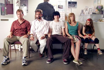 Greg Kinnear , Steve Carell , Paul Dano , Toni Collette and Abigail Breslin in Fox Searchlight Pictures' Little Miss Sunshine