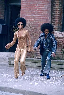 Aunjanue Ellis and Eddie Griffin in Universal's Undercover Brother