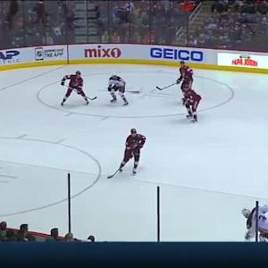 Mike Smith Save on Clayton Stoner (08:33/1st)
