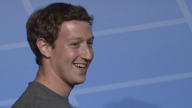 Mark Zuckerberg's pay drops 67% in 2013