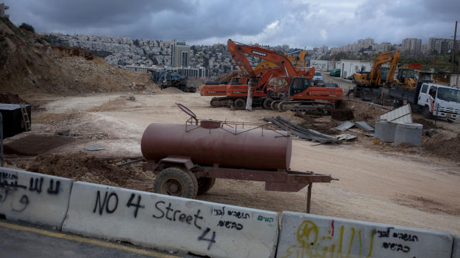 Jerusalem Arab residents contest highway route