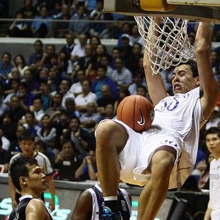 Ateneo&amp;#39;s Greg Slaughter. (Photo by Jerome Ascano/NPPA Images)