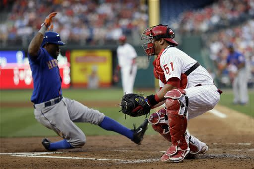 Lagares, Hefner lead Mets over Phillies 4-3
