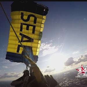 Navy Seal Wear Helmet Cam To Capture Boston Jump