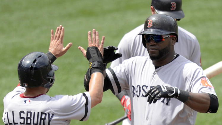 Lester, Ortiz carry Red Sox over Orioles 5-0
