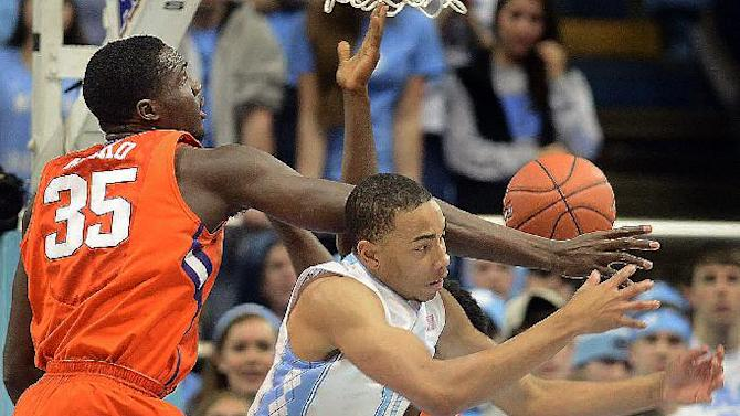North Carolina beats Clemson 80-61