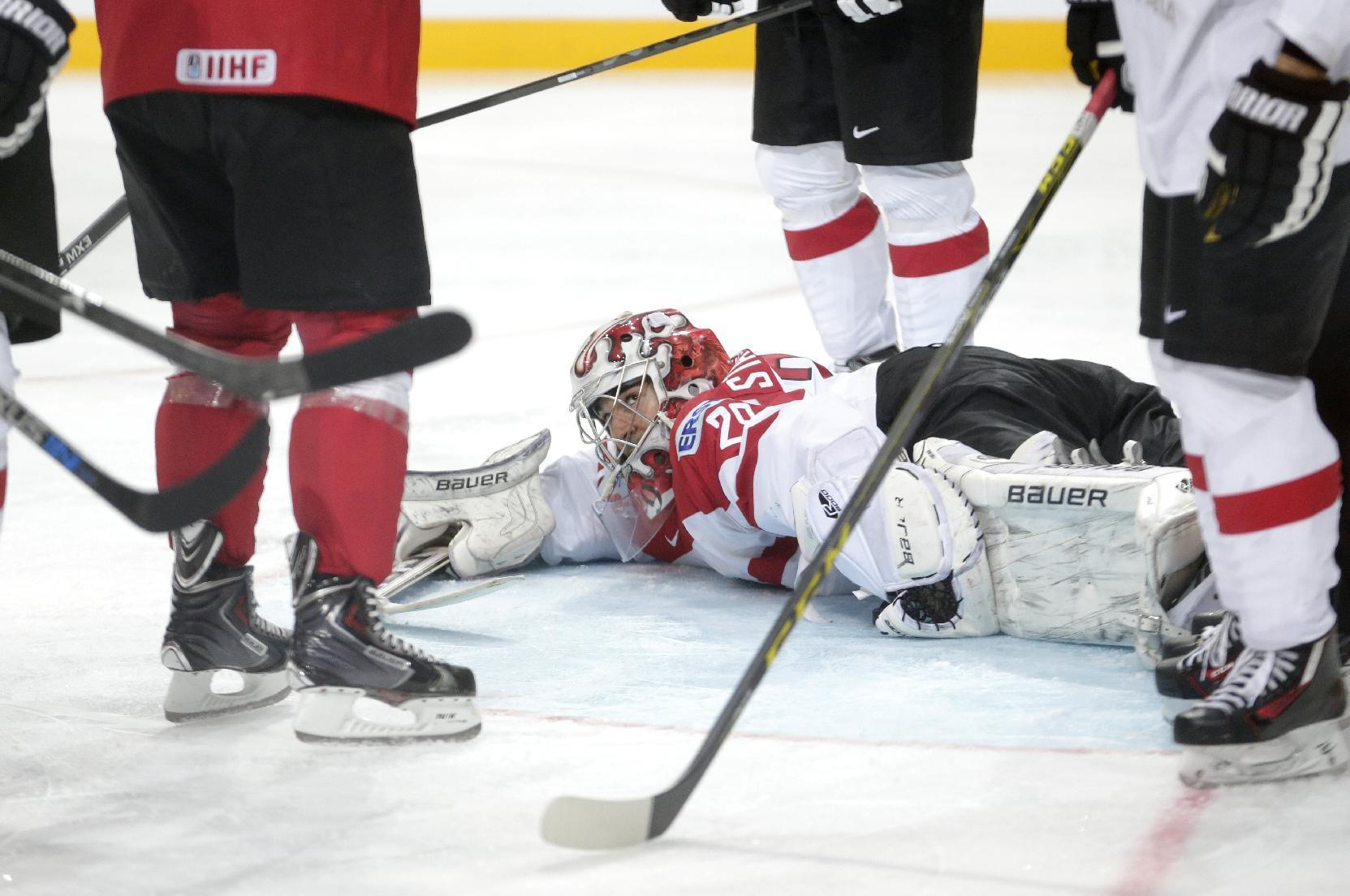 US 2 for 2 at ice hockey worlds, Czechs rebound