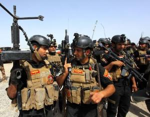 Members of the Iraqi Special Operations Forces (ISOF)…