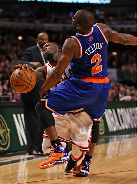 New York Knicks v Chicago Bulls