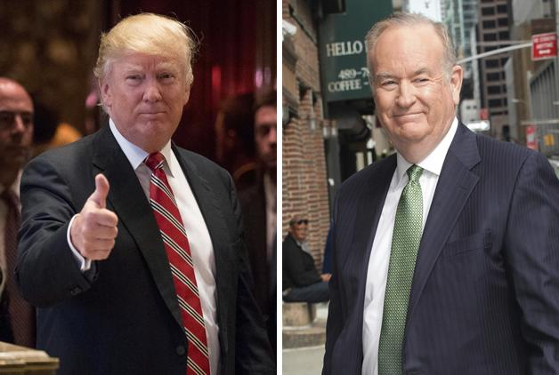 Bill O'Reilly To Interview Donald Trump During Super Bowl Pregame