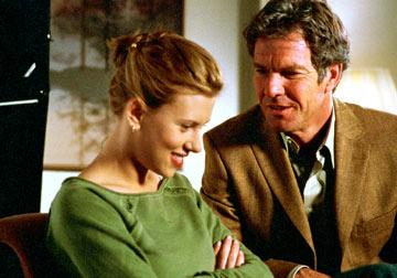 Dennis Quaid and Scarlett Johansson in Universal Pictures' In Good Company