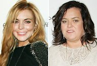 Lindsay Lohan, Rosie O'Donnell  | Photo Credits: Paul Archuleta/FilmMagic, Jim Spellman/WireImage