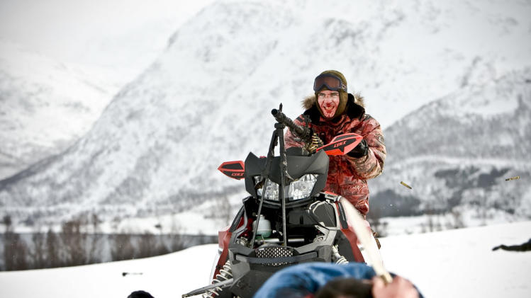 Lasse Valdal Dead Snow Production Stills IFC 2009