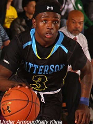 Former Baltimore Patterson point guard Aquille Carr — Rivals.com