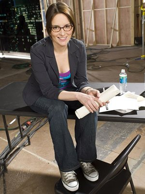 "Tina Fey as Liz Lemon on  NBC's ""30 Rock"""