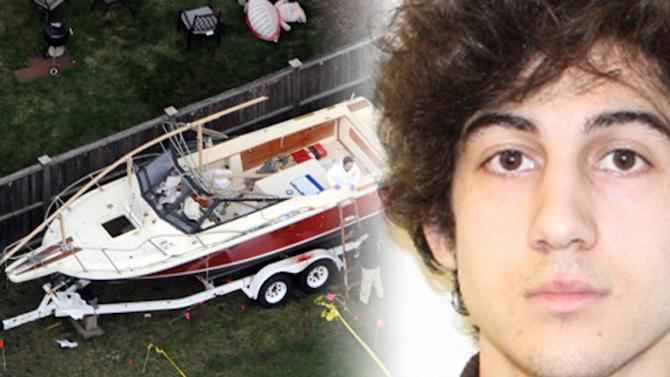 Boston Bomber's Note In A Boat