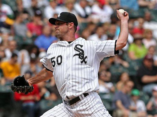 Danks gets first win, White Sox beat Athletics 4-1