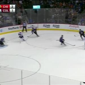 Calvin Pickard Save on Andrew Shaw (17:06/2nd)