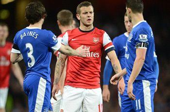 Arsenal and Everton escape punishment after halftime water bottle bust up