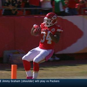 Week 8: Kansas City Chiefs running back Knile Davis highlights