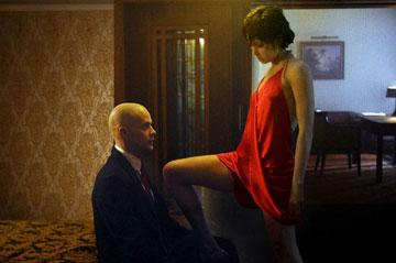 Timothy Olyphant and Olga Kurylenko star in 20th Century Fox's Hitman