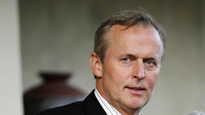"""FILE - In this May 22, 2011 file photo, author John Grisham speaks during the opening of the premier of the stage adaptation of """"A Time To Kill"""" at Arena Stage theater in Washington. Producers announced Tuesday, June 25, 2013 that playwright Rupert Holmes' stage adaptation of """"A Time to Kill,"""" John Grisham's best-selling novel, will open on Broadway on Oct. 20, 2013 at the John Golden Theatre in New York. (AP Photo/Jose Luis Magana, file)"""