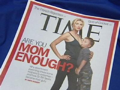 Time's Breastfeeding Cover Provokes Strong Reactions
