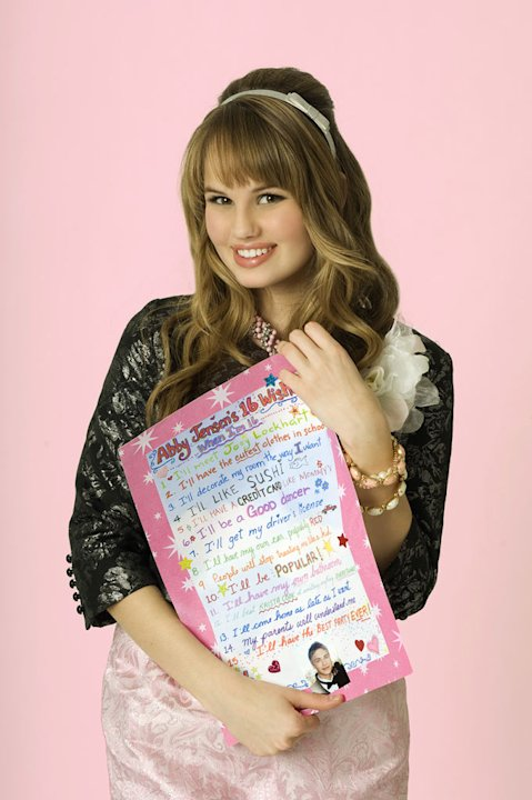 "Debby Ryan stars as Abbey Jensen on ""16 Wishes."""
