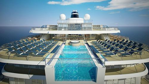 Six Absolutely Insane Cruise Ship Pools