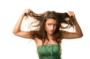 93% of women don't love their hair. This lady is one of them. Photo by Thinkstock