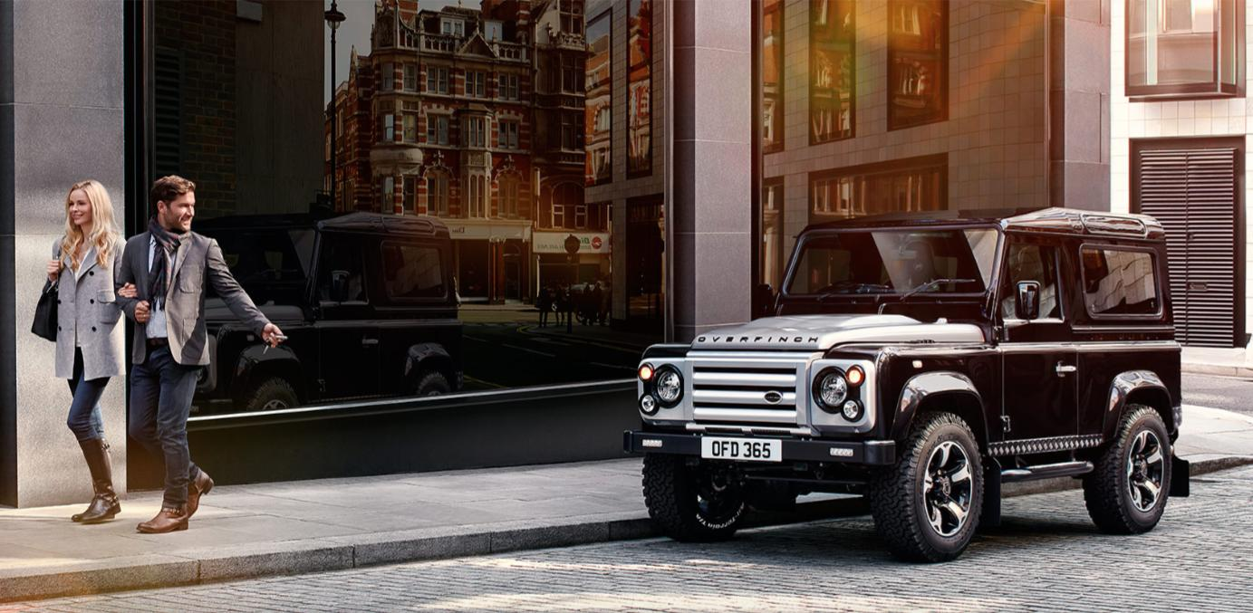Overfinch marks the Land Rover Defender's swan song with style