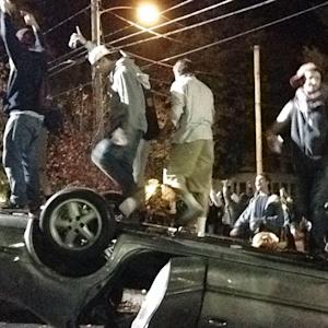 Dozens Arrested During Keene State College Riots
