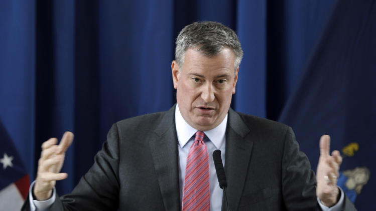 NYC mayor's next big push: affordable housing