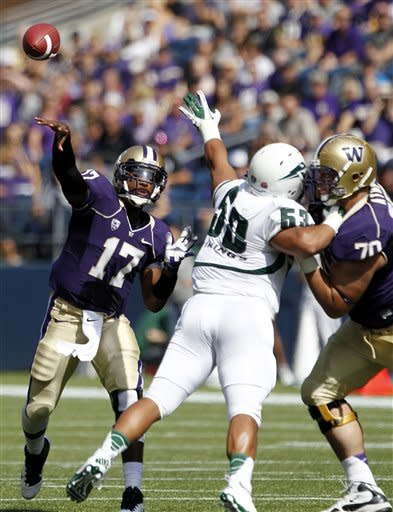 Washington routs Portland State 52-13