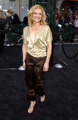 "Premiere: Victoria Pratt of ""Mutant X"" at the Hollywood premiere of Warner Brothers' The Matrix: Reloaded - 5/7/2003"