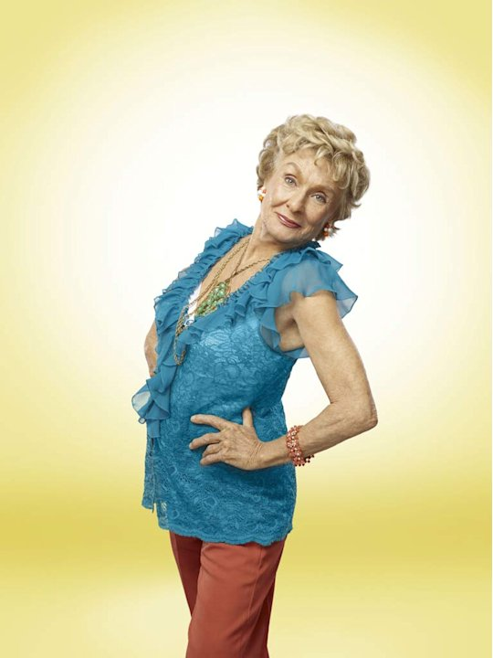 Cloris Leachman stars as Maw Maw in &quot;Raising Hope.&quot; 