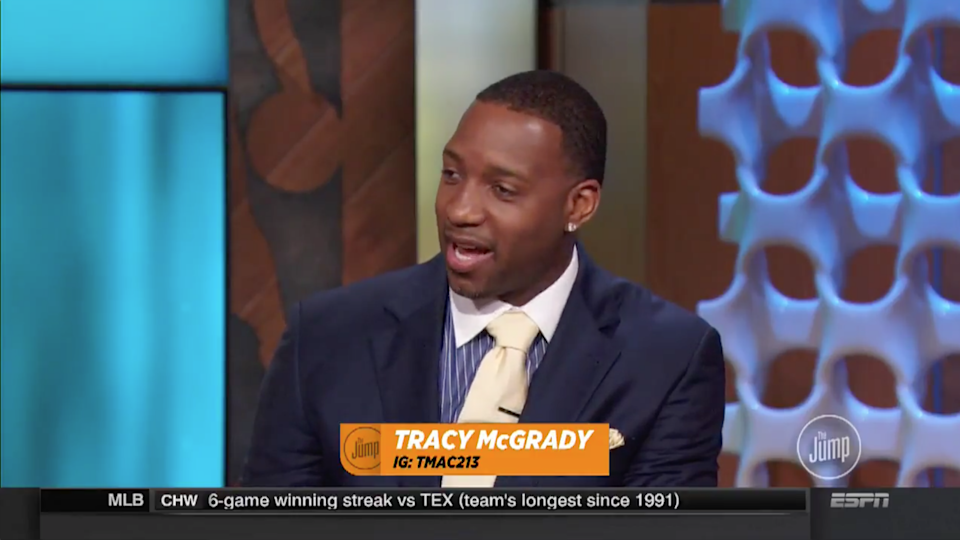 Tracy McGrady: Stephen Curry's unanimous MVP shows NBA is 'watered down'