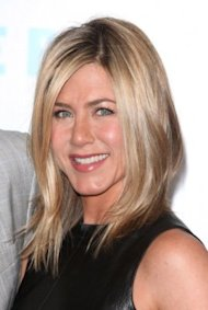 Jennifer Aniston's beach blonde shag remains a popular request at salons. Photo by Getty Images