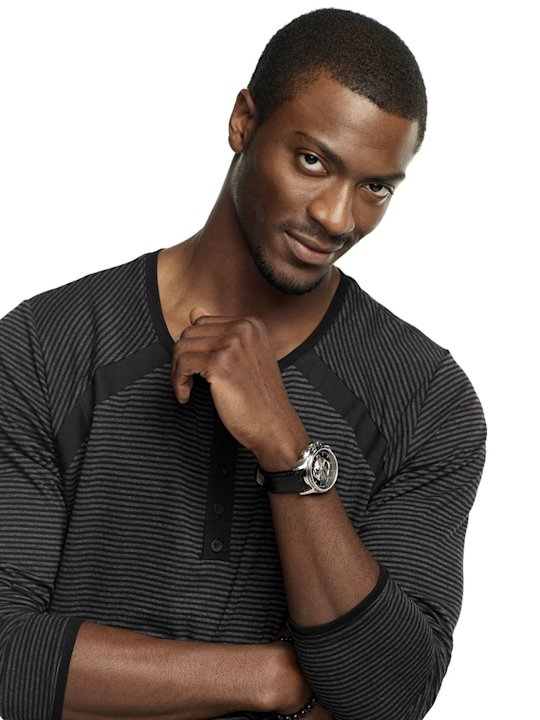 "Aldis Hodge stars as Alec Hardison in ""Leverage."""