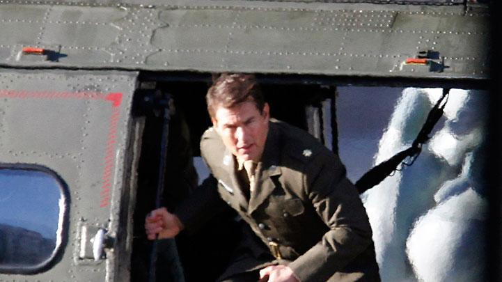 Spotted on Set, Tom Cruise