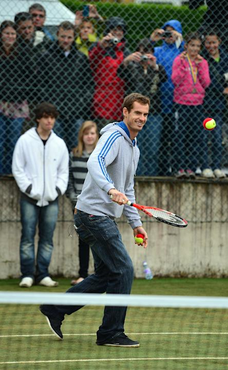 Andy Murray Returns To Dunblane
