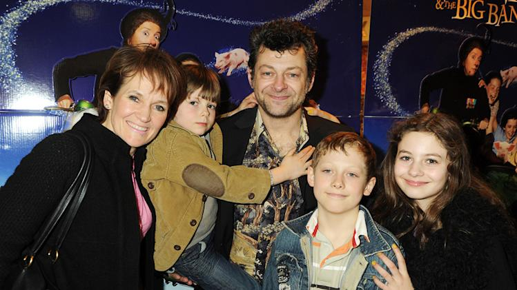 Nanny McPhee and the Big Bang UK premiere 2010 Lorraine Ashbourne Andy Serkis